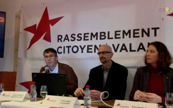 Rassemblement Citoyen Valais: la jeune formation politique est-elle pérenne?