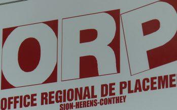 Chômage: le nombres de personnes inscrites dans les offices régionaux de placement reste élevé