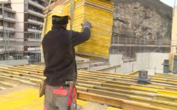 Pas de répit pour les chantiers même en période de grand froid, mais des pauses pour se réchauffer