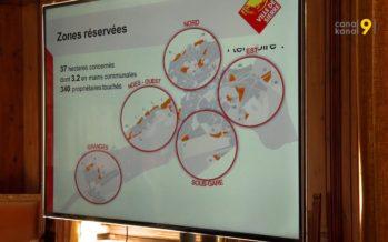 Planification territoriale: Sierre gèle 37 hectares de zones à bâtir pour les cinq prochaines années
