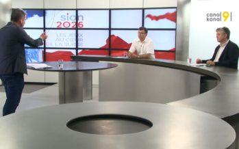 Sion 2026, le jour d'après… Coup de projecteur sur l'avenir du Valais avec Jean-Pascal Fournier et René Constantin