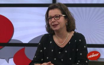 LE DÉBRIEF' avec Yasmina Giaquinto-Carron, libraire