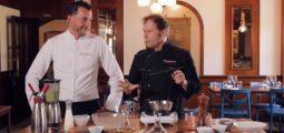 COMME UN CHEF au restaurant de l'Auberge de Vouvry