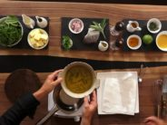 COMME UN CHEF au restaurant l'Ermitage à Clarens