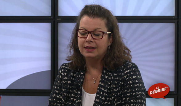 LE DÉBRIEF' avec Yasmina Giaquinto-Carron