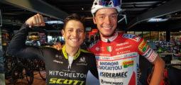 Cyclisme: Simon Pellaud a préparé les Mondiaux avec une superstar colombienne