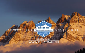 """Trail Running: des images magnifiques du """"DDM Trail"""" Trail des Dents du Midi à Champéry"""