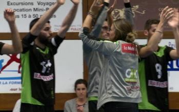 Volleyball: Mélanie Cina, une femme de caractère au VBC Fully