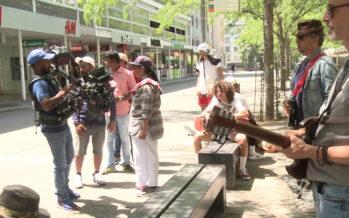 Bollywood: en tournage dans les rues de la capitale valaisanne pour y réaliser «Manmadhudu 2»