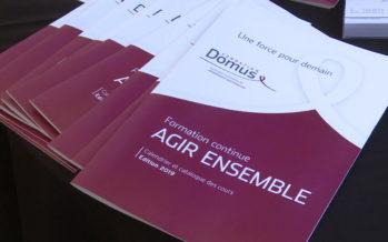 La Fondation Domus s'agrandit. Un projet devisé à 9 millions de francs, qui propose 18 places supplémentaires