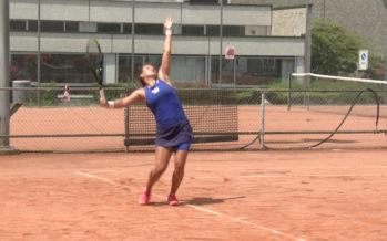 Ylena In-Albon, meilleure tenniswoman valaisanne, retrouve le chemin des courts