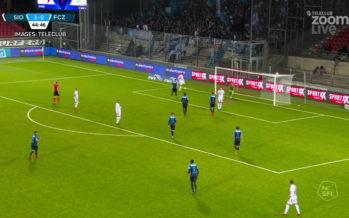 1 à 0 face à Zurich: le FC Sion regarde vers le haut!