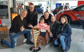 Rallye: entretien exceptionnel avec le pilote Olivier Burri à redécouvrir ce soir