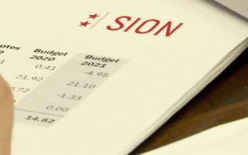 Budget de la Ville de Sion: des chiffres rouges pour la première fois en 20 ans