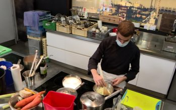 Métiers de la restauration: des ateliers pour occuper et former les apprentis