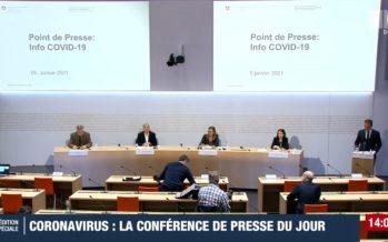 Coronavirus: «la situation stagne à un haut niveau en Suisse» selon l'OFSP