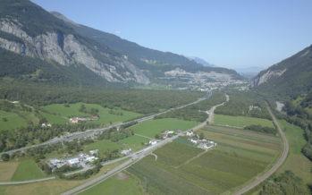 Espace Bois-Noir: biodiversité, paysage et mobilité douce améliorés – Stalden: Chantier du Pont Chinegga