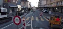 Martigny: les travaux de l'Avenue de la Gare ont débuté