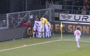 FC Sion: retour sur la très bonne série des Rouge et Blanc, trois succès en trois matches!