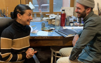 Dialogue artistique entre Cécile Giovannini et Jolan Chappaz