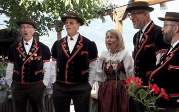 HUMAIN PASSIONNÉMENT rencontre avec le Jodlerklub Alpenrösli de Lausanne