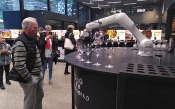 Caves Ouvertes: un robot et des producteurs heureux