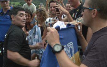 Quand Maradona exauçait les rêves de ses fans à Brigue