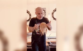 SERVICE À DOMICILE: une frange à la maison avec Salvator Grasso