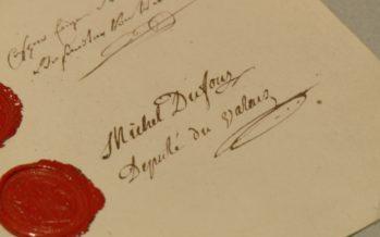 Archives: 1815, le Valais signe l'entrée dans la Confédération
