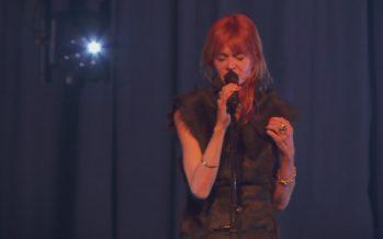 La chanteuse belge Axelle Red s'est produite au Châble dans le cadre de sa tournée européenne