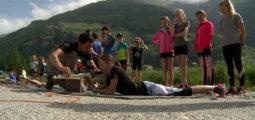 Evolène tourisme région organise les premières initiations au biathlon. A quand des ambitions pour la compétition?