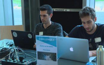 Le BlueArk Challenge Entremont s'est tenu à l'espace Saint-Marc au Châble sur le principe du hackathon