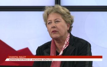 Chantal Balet: «Je suis assez déçue car la problématique s'arrête au discours: Oui, il faut des femmes, mais on n'en trouve pas…»