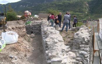 Granges: un château du 13ème siècle mis au jour
