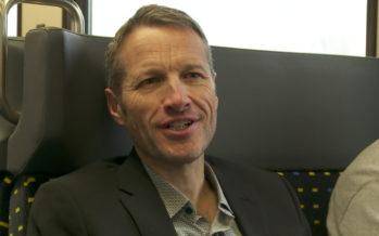 Christophe Clivaz: premier jour du conseiller national vert