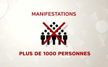 Le Conseil fédéral interdit tout rassemblement de plus de 1000 personnes en Suisse. Objectif: limiter la progression du coronavirus