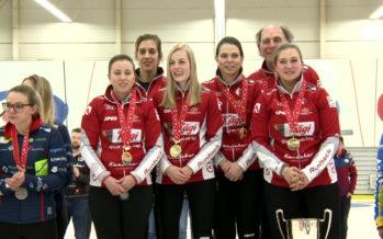 Curling: les curleuses haut-valaisannes du team Stern championnes suisses