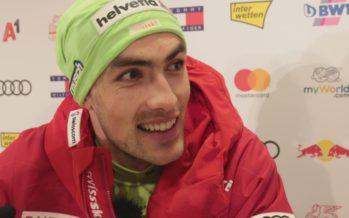 Daniel Yule: une 3e victoire en slalom en ce mois de janvier, la 4e de sa carrière, à Kitzbuehl