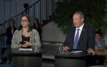 Fédérales 2019: cinq candidats au Conseil national débattent des grands enjeux de l'économie