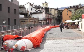 Un container de protection mobile contre les crues offert à la ville de Sion