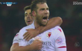 FC Sion: 3e victoire de rang pour les Rouge et Blanc