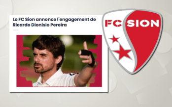 FC Sion: rebondissement le nouvel entraîneur ne serait pas libre