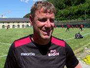 L'interview intégrale de Stéphane Henchoz lors de son 1er entraînement avec le FC Sion
