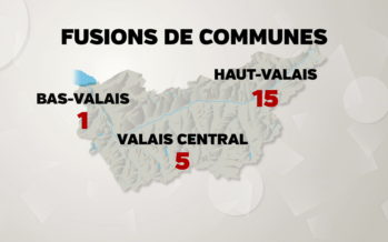 Haut-Valais: la tendance des fusions de communes s'accélèrent