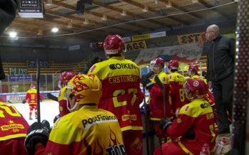 Le HC Sierre s'incline contre Olten lors du 1er acte de ses playoffs