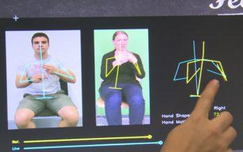 Martigny: un ordinateur pour apprendre la langue des signes, l'Idiap présente ses innovations aux entrepreneurs