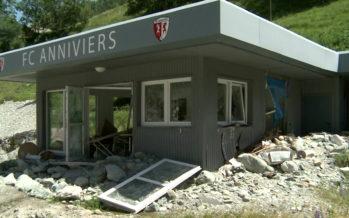 Intempéries en Anniviers: il y a un an, la Navizence sortait de son lit et causait des dégâts considérables