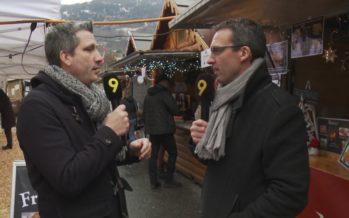 Stéphane Coppey, président de la Ville de Monthey, prêt à relever les défis de 2019