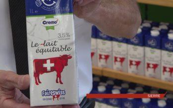 Un franc par litre de lait, directement dans la poche du producteur