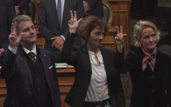 Depuis 1848, la Chambre des cantons a vu défiler 56 Valaisans et enfin une Valaisanne!